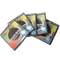 NAOMI 5Packs أليس غيتار سلسلة الملونة الغيتار الصوتية سلاسل الغيتار سلسلة استبدال a407c