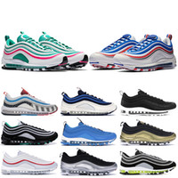 South Beach Oyun Kraliyet 1997s OG Ayakkabı Neon Seul LX Antrasit Amarillo Womens Sneakers Silver Bullet stilist Ayakkabı Koşu