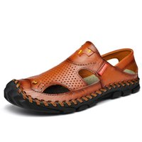 Sandálias dos homens 2020 New Verão Homens Sandália sapatos de praia Outdoor Shoes Big Size Casual antiderrapante sapatos do homem Plus Size 38-46