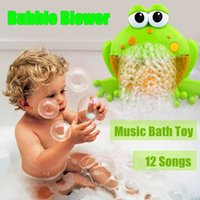 Cute Baby Bubble Frogs Crab Automatic Shower Machine Blower ...