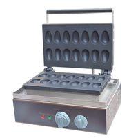 상업 미니 계란 와플 케이크 기계 110V 220V 전기 산업 메추라기 계란 와플 메이커 버드 계란 튀김 제빵 기계를 만들기