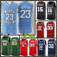 NCAA MJ 23 Michael Jersey Üniversitesi Lebron 23 James 13 Harden 33 Brid Kawhi 15 Leonard Basketball