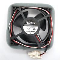 Nouveau Original pour Nidec 9cm U92C12MS1B3-52 12V 0.16A pour le ventilateur de refroidissement du radiateur réfrigéré Rrefrigerator