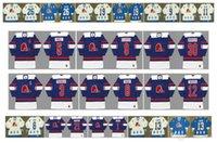 Vintage Quebec Nordiques Jersey 21 Serge Bernier 1 Serge Aubry 13 Mats Sundin 26 Peter Stastny 19 Joe Sakic 9 RICCI Owen Nolan Retro Hockey