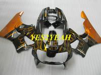 ホンダCBR900RR 893 91 92 93 94 95 CBR900 RR 1991 1995 Golden Black Fairys Bodyowrk + Gifts HB13のためのオートバイのフェアリングボディキット
