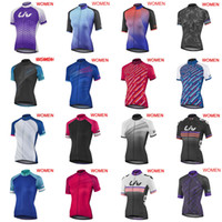 2019 New LIV team Cycling Short Sleeves jersey Wholesale 3D ...