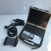 ميغابايت نجمة C6 VCI التشخيص أداة SD ربط doip أحدث نسخة SSD 2019.09v مع CF-19 كمبيوتر محمول على استعداد لاستخدام