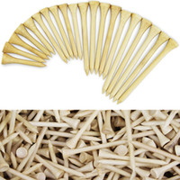 Package of 100 Tees Golf Tees Bamboo Tee Golf Balls Holder 4...