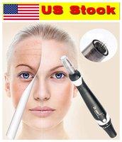 US Stock !!! Électrique Auto Derma Pen A7 Micro Ailet Rouleau avec 2pcs 12pin Cartouches Soins de la peau Beauté anti-cheveux