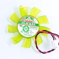 Ny Magic 0.19A 12V MGA5012XR-O10 Grafikkortfläkt 4cm Pitch 4,6cm diameter 0,19a 12V
