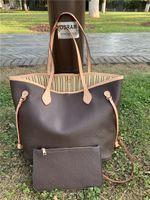 2020New Frauen Handtaschen Weibliche Mutter 2 STÜCKE Leder Packtasche Hand Mutter Bill der leitenden Umhängetasche Kleine Tasche mit Geldbörse M40157