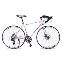 الجبال الدراجات 700C الطرق سبائك الألومنيوم الدراجة 21 27 و 30speed الطريق دراجة اثنين من القرص الرمال جبل دراجات خفيفة جدا
