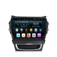 Android 9inch 8-núcleo para hyundai santa fe 2013-2017 ix45 carro multimídia jogador de rádio sintonizador WiFi Bluetooth GPS Navegação WiFi Head Unit