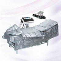 Nouveau 3 en 1 Far Pressothérapie infrarouge EMS Stimulation de muscle électrique Sauna Pression de l'air Pressothérapie Pressothérapie Lymphe Drainage Body Minceur Machine