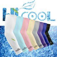 США STOCK Anti UV защиты рукава Спорт ВС Блок вождения Открытый Arm Sleeve охлаждения рукава Обложки 2шт / пара CPA1138