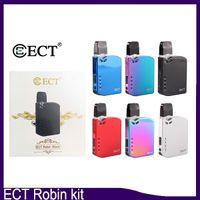 Stokta var!!! 100% Orijinal ECT Robin pil Pod Kiti Elektronik Sigara VV Kutusu Mod Takımı 0.5 ml Kartuş Taşınabilir Vape Kalem 0268117