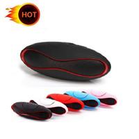 X6 Mini drahtlose Bluetooth Lautsprecher-Freisprecheinrichtung Lautsprecher Errichtet in MIC-Audioempfänger boom box Unterstützungs-TF-Karte USB