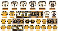 빈티지 보스턴 Bruins Jersey 6 Joe Thornton 13 Bill Guerin 46 David Krejc 30 Tim Thomas 91 Marc Savard 17 Milan Lucic 맞춤식 하키 유니폼