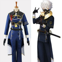Tuken Ranbu Online Cosplay Costume Uniform Nakikitsune Halloween Party Anime