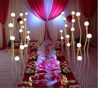 خمسة أعمدة الصمام الزفاف الطريق قفزة مصباح التصميم الحديث الزفاف ضوء الطريق الرصاص الممشى الرصاص الطريق أدى أضواء