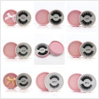 3D Faux Mink Eyelashes False Mink Eyelashes 3D Silk Protein ...