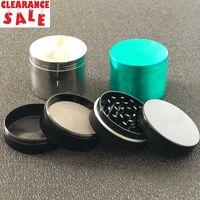통관 담배 분쇄기 최고 품질의 아연 합금 55mm 4 조각 허브 분쇄기 흡연 그라인더 판매