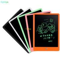 10 بوصة رسم لوحة الكتابة اللوحي LCD ضوء ارتفاع السبورة بلا أوراق المفكرة مذكرة الكتابة اليدوية وسادات مع هدية القلم ترقية للأطفال 10PCS