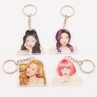 Blackpink Members Photo Acrylic Keychain Keyring Lisa Rose K...