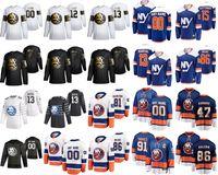 New York Islanders 2020 All-Star Hockey Jerseys 44 Jean-Gabriel Pageau 4 Andy Greene Mathew Barzal Josh Bailey Cal Clutterbuck Personalizado ponto