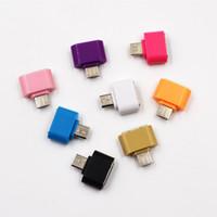 Micro USB to USB OTG Adapter mâle au convertisseur USB 2.0 Micro Adapter pour Samsung Xiaomi LG Huawei Android Téléphone mobile