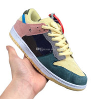 2019 New Custom Sean Wotherspoon SB Dunk Low Pro OG QS Cordu...