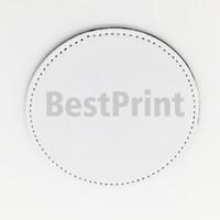 الشكل في جولة مربع بو المواد التسامي كوستر الفراغات تخصيص الطباعة بو كأس حصيرة