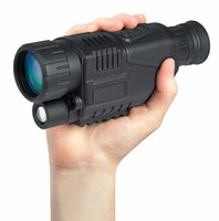 5x40 Visione notturna هل A Raggi Infrarossi ديل Telescopio MILITARE Tattico Monoculare Potente HD رقمية دي Visione Monoculare Telescopio دي