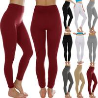 Kadınlar Spor Pantolon Yüksek Bel Yoga Spor Tozluklar Koşu Egzersiz Spor Pantolon