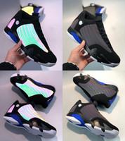 Erkek Eğitim Sneakers En kaliteli Tasarımcı Spor Ayakkabı Boyutu 40-47 için 2020 Yeni Jumpman 14 14SXIV Bukalemun 3M Yüksek Basketbol Ayakkabı