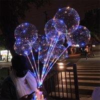 스틱 NEW LED 조명 풍선 야간 조명 보보 공 여러 가지 빛깔의 장식 풍선 웨딩 장식 밝은 라이터 풍선