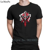 Design Cotton T- Shirt Man Vikings Emblem Logo Honor Glory Me...