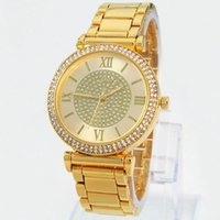 High quality Hot Sales Silver Gold Watch Women Luxury Hot Sa...