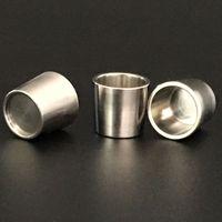 Nuovo Titanio Inserire Bocce Peak Bowl Nail termico per Rig Wax vaporizzatore Bong Dabber olio enorme Vape