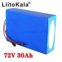 LiitoKala 20S 72V 20Ah 30Ah 40Ah 50Ah batterie vélo électrique 21700 5000mAh cellule 72V scooter batterie au lithium électrique avec BMS