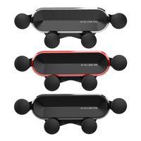 Yeni Evrensel Küçük Bir Araç Telefonu Alüminyum Alaşım Mini Yerçekimi Parantez Cep Telefonu Tutucu Cep Telefonu Destek Standı