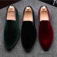 Zapatos Oxford Nueva vestido de los hombres zapatos de patente de Sombra de lujo del cuero zapatos de boda Moda novio hombres del estilo italiano de lujo