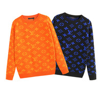 Mens Luxury Sweaters Designer Pattern Pullovers Active Hipho...