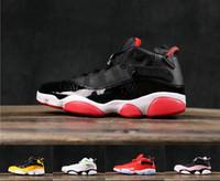 Yeni KADIN Mens 6rings Sneakers Altı Halkalar Taksi Renkler Ayakkabı boyutu Bred Tasarımcı ayakkabı 6 Halkalar Basketbol Ayakkabı Erkek 36-45