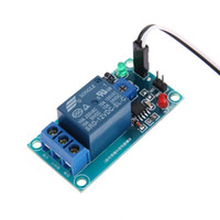 12V Jordfuktövervakningsmodul och automatisk Vattning 100mA Device DuPont Trådar Garden Sensor Relay Module