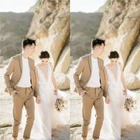 2019 einfache V-Ausschnitt Aline Tüll Brautkleider mit maßgeschneiderten bodenlangen Strand Brautkleid