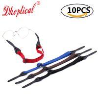 Moda esporte óculos de cordão, natação jogar bola cesta de cordão de óculos cadeia 10 pcs atacado para loja de óculos frete grátis