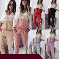 Womens Designer Survêtement à capuche Colorimétrie Mode Costume Femmes Printemps et Automne Casual Sports Costume 2020 Vente Hot Top Quanlity