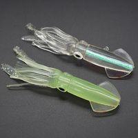 10PCS 10.5 cm 발 8g 대형 오징어 실리콘 낚시 미끼 부드러운 미끼 미끼 낚시 액세서리 태클