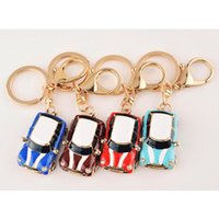 2019 Mini Car Key Chain for Men INS Fashion Car Pendant Key ...